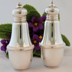 Vintage Duchin Creation Sterling Silver Salt and Pepper Shakers
