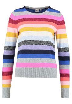 GAP LONGSLEEVE CRAZY  - Sweter - multi coloured za 167,2 zł (11.01.18) zamów bezpłatnie na Zalando.pl.