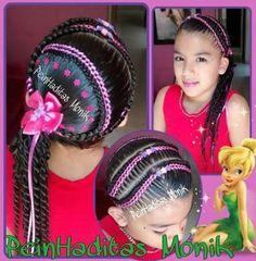 ideas hairstyles ideas african americans natural hair Ideen Frisuren Ideen Afroamerikaner na Loose Curls Hairstyles, Teen Hairstyles, Elegant Hairstyles, African Hairstyles, Pretty Hairstyles, Haircuts, Big Braids, Braids For Kids, Women Pixie Haircut
