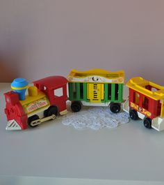 Vintage circus train fisher price little people