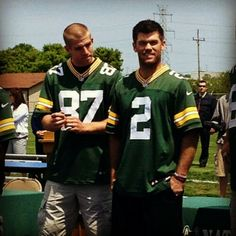 Nelson and Crosby. Here's hoping Crosby gets his act together and starts making FG's again...