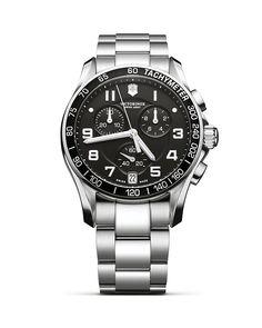 625.00$  Buy here - http://vibll.justgood.pw/vig/item.php?t=mlhd6n9520 - Victorinox Swiss Army Classic Stainless Steel Bracelet, 41 mm