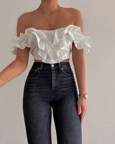 Cute Casual Outfits, Girly Outfits, Stylish Outfits, Vintage Outfits, Casual Wear, Teen Fashion Outfits, Look Fashion, Korean Fashion, Mens Fashion