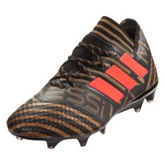 adidas Nemeziz Messi 17.1 FG Soccer Cleats Black Solar red Gold  Metallic-12.5 b677799763df7