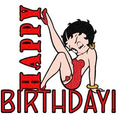 Create and share betty boop HAPPY birthday graphics and comments with friends. Happy Birthday Betty Boop, Happy Birthday Wishes, Birthday Greetings, Birthday Messages, Birthday Cards, Happy Wishes, Gif Animé, Animated Gif, Imagenes Betty Boop