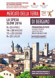 I Mercati della Terra  dal 9 aprile al 23 Luglio Bergamo