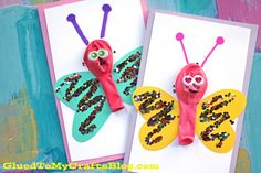 Balloon Butterfly Cards – Kid Craft