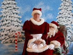 Alexander County's Cookies with Santa event!