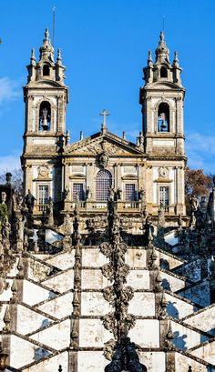 Bom Jesus do Monte Monastery, Braga, Portugal | 32 Stupendous Places in Portugal every Travel Lover should Visit