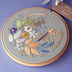 A beautiful hand embroidered wall decoration for your home or a special gift for your dear person ❤ DETAILS: • Size of the hoop is 6 inches. • It is ready to be hung on any wall of choice or stand on the tables, cupboards or shelves. • High quality materials only are used in the
