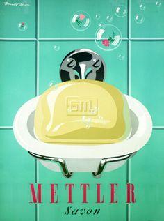 :: Donald Brun, Mettler Soap, 1955 ::