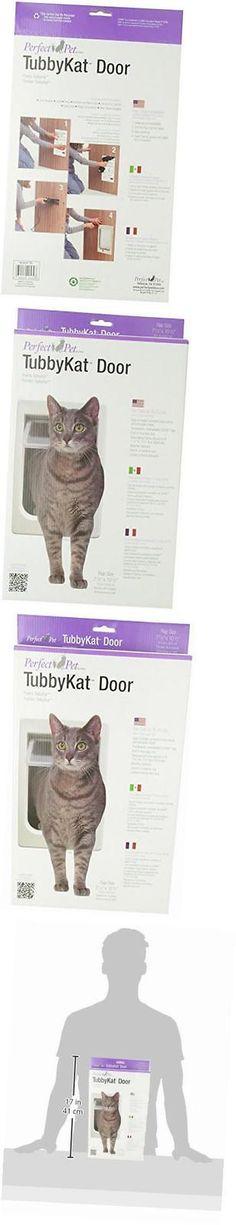 Doors and Flaps 117421: Tubby Kat Cat Pet Door With 4 Way Lock, 7.5 X 10.5 Unbreakable Lexan Flap -> BUY IT NOW ONLY: $37.53 on eBay!