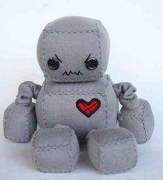 Adorable Robot Plushies