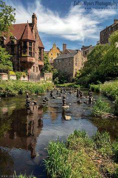 The Water of Leith, Dean Village, Edinburgh