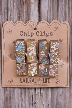 Cute Chip Clips from Natural Life. Call to order 828-295-6128 $13.00