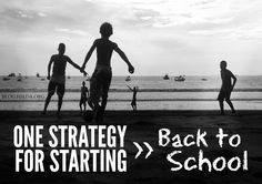 One Strategy for Starting Back to School | HSLDA Blog