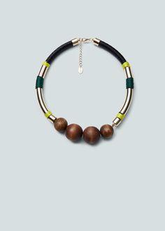 Mixed necklace | MANGO