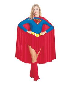 Take a look at this Supergirl Dress-Up Set - Women by Rubie's on #zulily today!