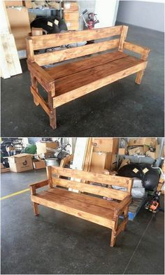 This is quite a unique and excellent piece of creation for your house! A refreshing style of the wood pallet bench is created all over that look so attractive. This bench style is fabulous included in which you can dramatically add rough and artistic flavors at the best.