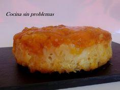 Cocina Sin Problemas: Puding de pan duro y mermelada de melocotón.