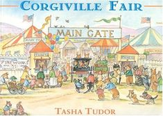 """""""Ms. Tudor's favorite of all her books was """"Corgiville Fair,"""" one of several she wrote about the Welsh corgi dogs she kept as pets, sometimes 13 or 14 at once."""""""