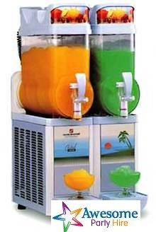 All our flavours here at Slushie Machine Hire in Melbourne, Australia, can be served as mocktails or cocktails. For alcoholic cocktails add between 1-2 bottles of spirit (700ml for every 12 ltrs cocktails)  Operating the Machine: We will teach you how to use the machine so you will have no problems filling it or serving drinks. All our machines are very reliable and easy to operate. All you need to do is to add the liquid, (see below) plug into a standard 240v power outlet and turn it on.