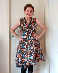"""Jill on Instagram: """"Happy 10th Birthday @sewoveritlondon #sewoverit10 🥳 The vintage shirt dress is one of my favourite patterns, here's my most recent…"""" Happy 10th Birthday, Sew Over It, Dress Sewing, Vintage Shirts, Sewing Patterns, Shirt Dress, Summer Dresses, Shopping, Instagram"""