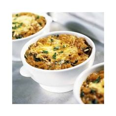 Bread and Onion Soup ❤ liked on Polyvore featuring home and kitchen & dining
