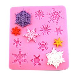 Snow Silicone Mold Fondant Cake Decorating Tools Silicone Forms Soap/Cake Mold 3D Silicone Bakeware Mould Free Shipping 1525 #Affiliate