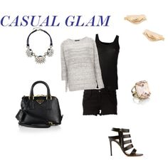 """""""casual glam"""" by shizbuckley on Polyvore www.chloeandisabel.com/boutique/shizbuckley"""