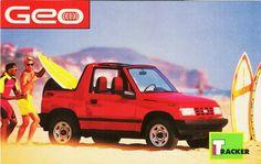 1992 Geo Tracker Ad
