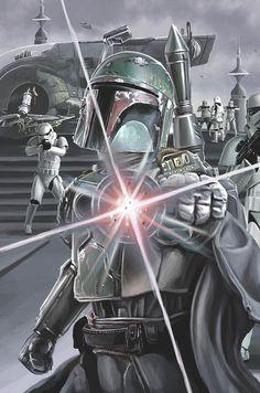 Boba Fett by Matt Robinson Star Wars