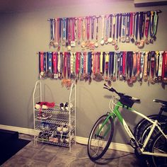 Wow, not that's a medal display!