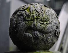 magickpagoda:  stone ball by deejay25 on Flickr.