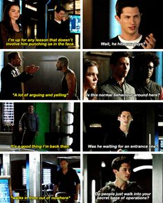 Rory asking the real questions. #Arrow #Season5