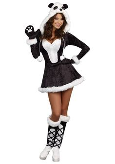 Women s Panda Bear Baby Costume. Fantasia De ... 482c77b6f68d