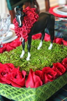 Made these horse displays using vintage Breyer horses. Description from pinterest.com. I searched for this on bing.com/images