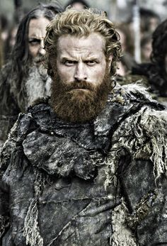 Kristofer Hivju as Tormund, To be frank with you Davos Seaworth before battle