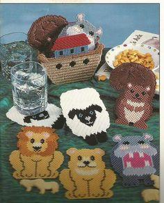 Noah's Ark Coasters 1/4