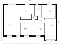 plan de maison f4 plain pied