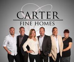 Carter Fine Homes Real Estate team photo