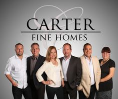 Carter Fine Homes Real Estate team photo