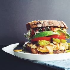 Loaded Vegan Sandwich
