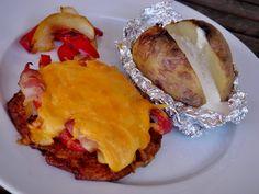 Nem vagyok mesterszakács: Rakott fajita pulykamell Fajita, Lasagna, Baked Potato, Bacon, Potatoes, Ethnic Recipes, Minden, Food, Eten