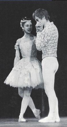 Margot FONTEYN с Рудольфом Нуреевым после спектакля РАЙМОНДА 1965