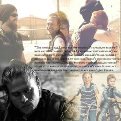 Jax & Opie. Crying forever