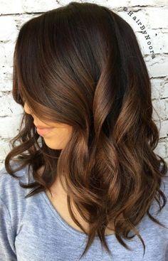 Schokolade Braun Haarfarbe für 2017 Smart Frisuren für Moderne Haar