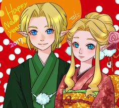 Happy New Year #2017 by @nonoworks ! #Link #Zelda