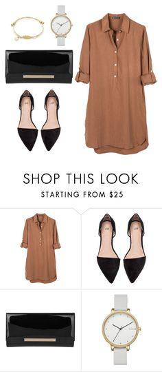 Feshion #1 by thamiris-7 on Polyvore featuring moda, United by Blue, Jimmy Choo and Skagen