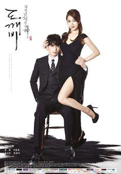 """Wang Yeo (Lee Dong Wook) & Sunny (Yoo In Na) en """"Goblin"""""""